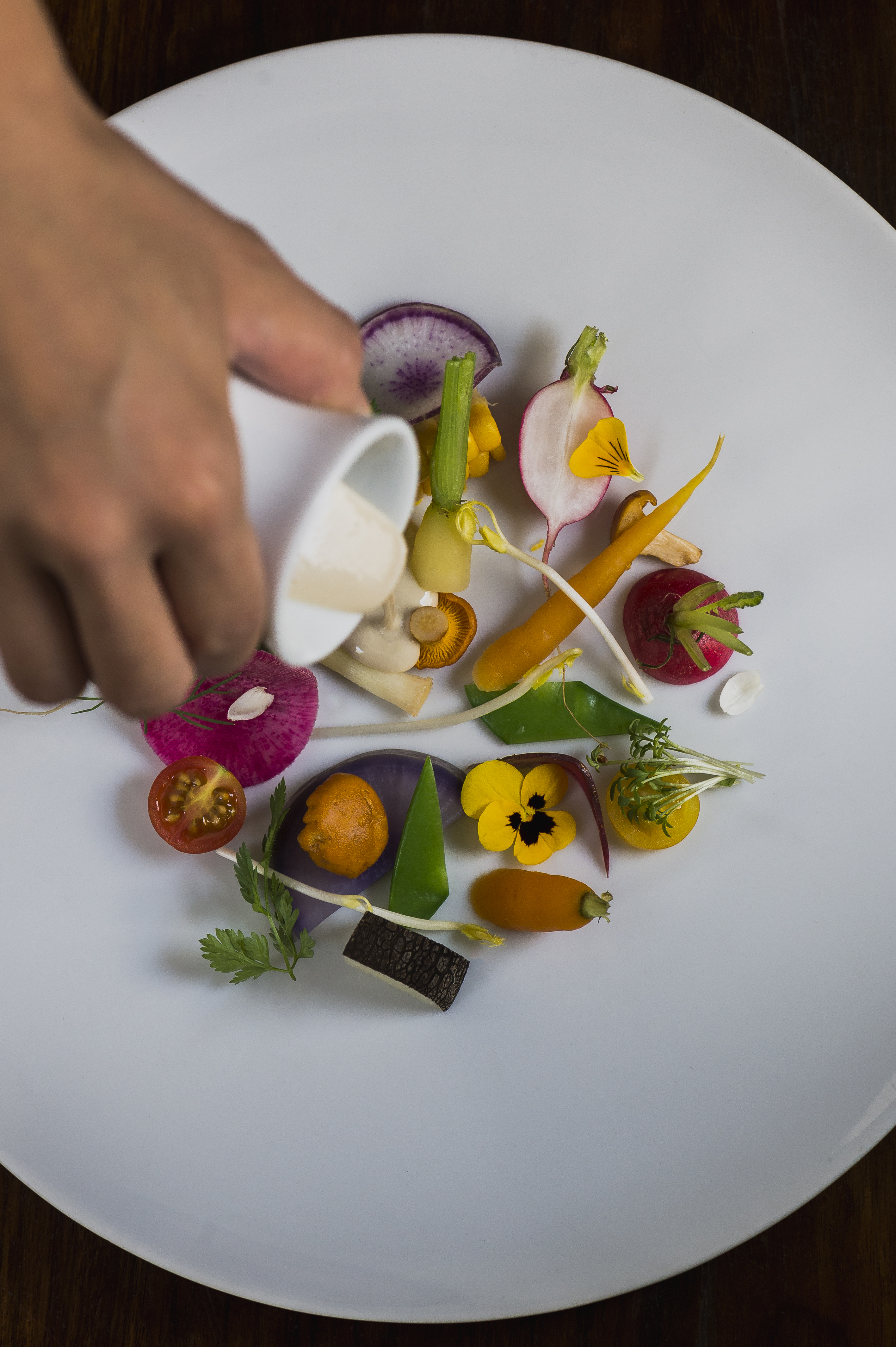 Restaurant Automne. Restaurant étoilé Michelin